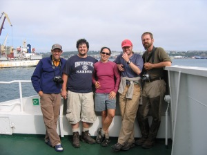 2007 UW Kuril Crew