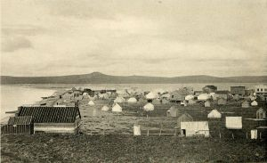 Teller, AK ca. 1900 (Photo by E.A. Hegg via Wikimedia Commons)