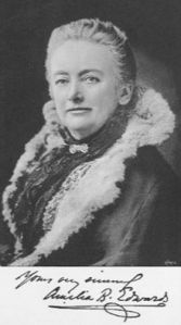 Amelia Edwards (Photo via Wikipedia Commons)